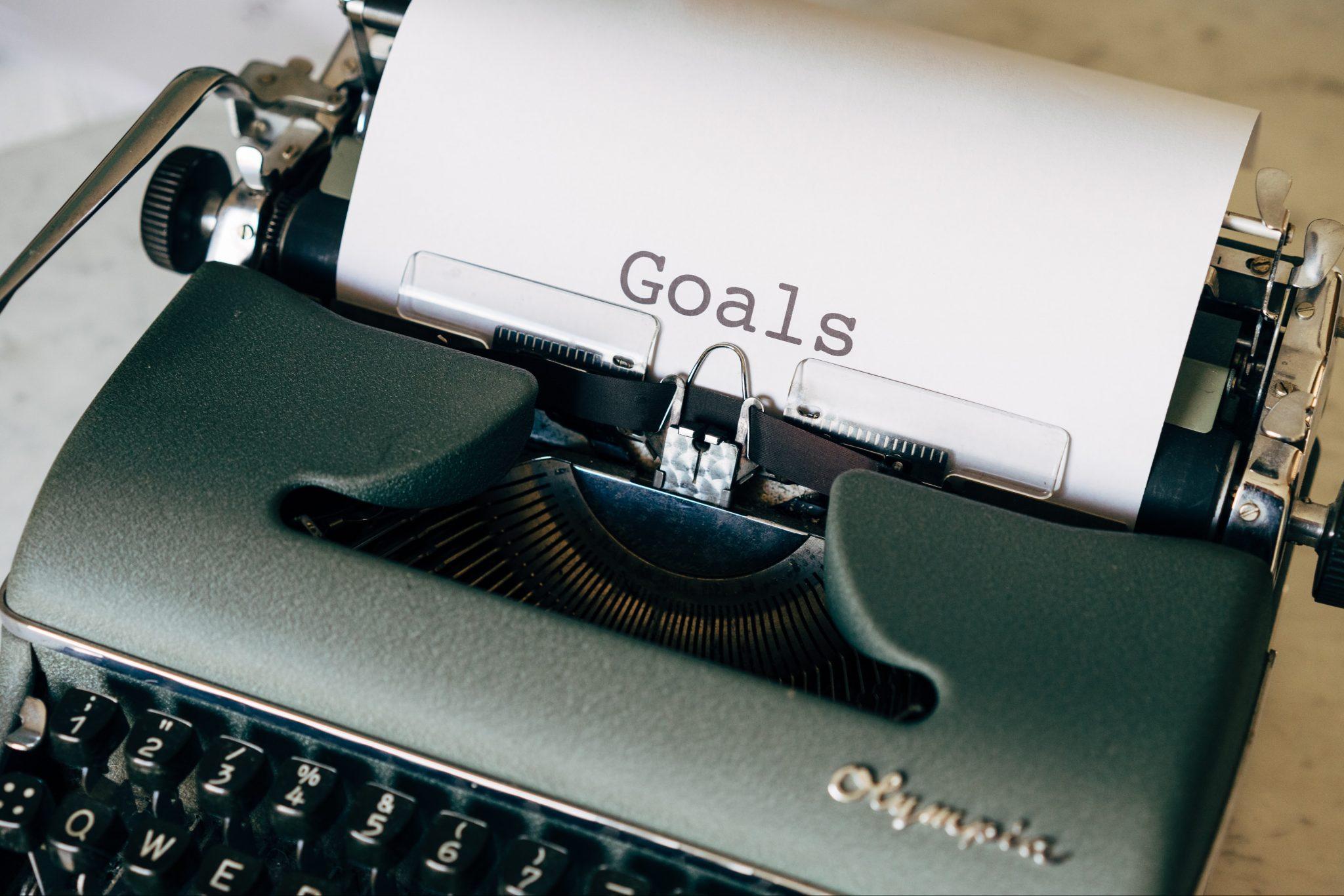 La definizione dei goal nella direzione del team